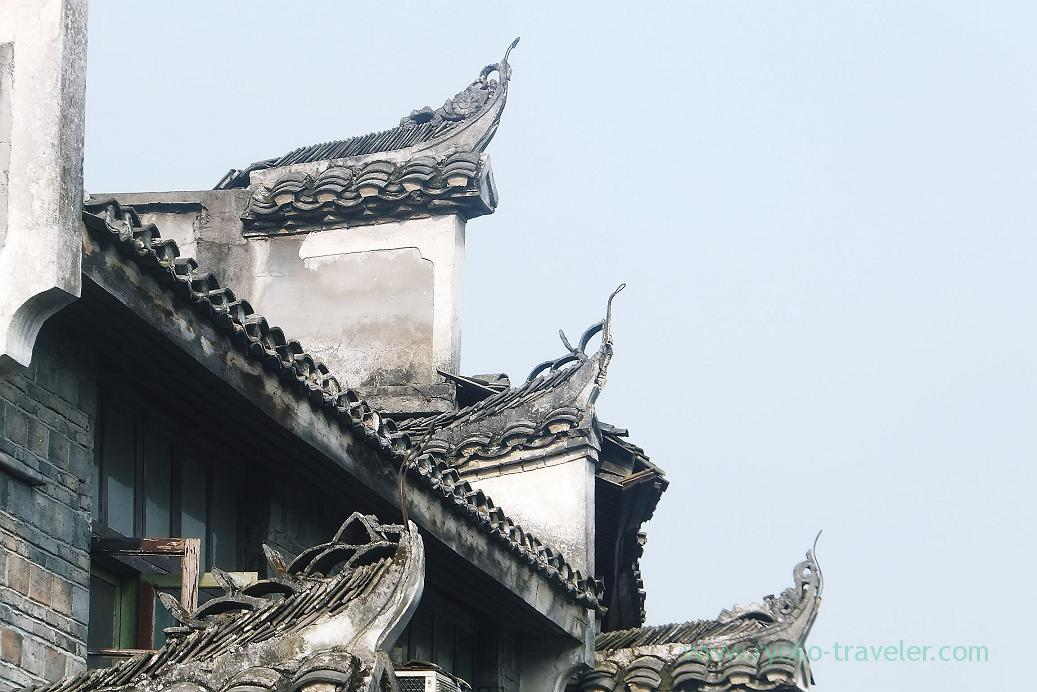 Roof, Feng fuang old castle ,Feng fuang(Zhangjiajie and feng huang 2015)