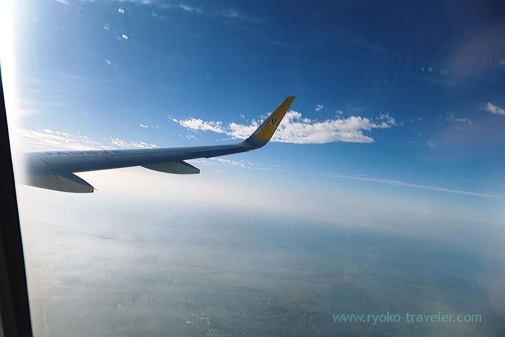 Sky, Narita airport terminal 3, Taiwan Kaohsiung 2015 (Narita)