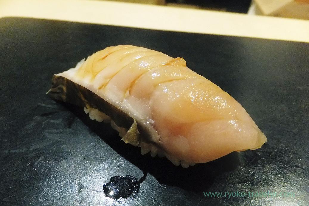 Spanish mackerel, Sushi Hashimoto (Shintomicho)