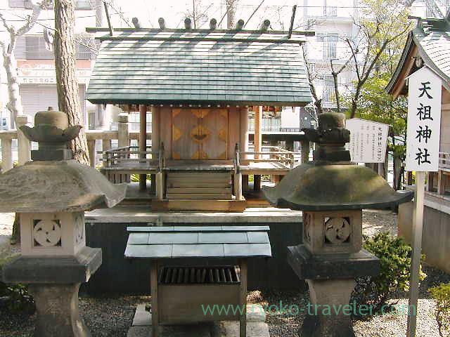 Tenso Jinja shrine, Katori Jinja shrine (Kameido)