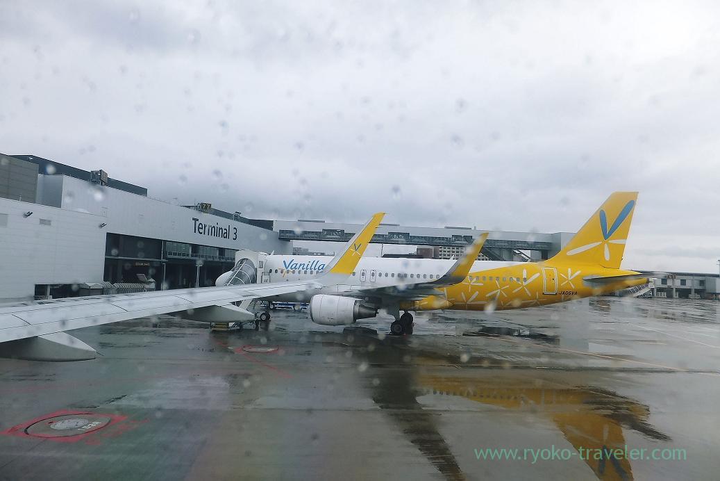 Vanilla air, Narita airport terminal 3, Taiwan Kaohsiung 2015 (Narita)