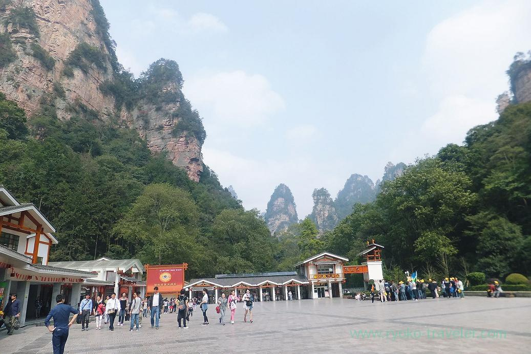 View 3, Zhangjiajie forest park ,Zhangjiajie(Zhangjiajie and feng huang 2015)