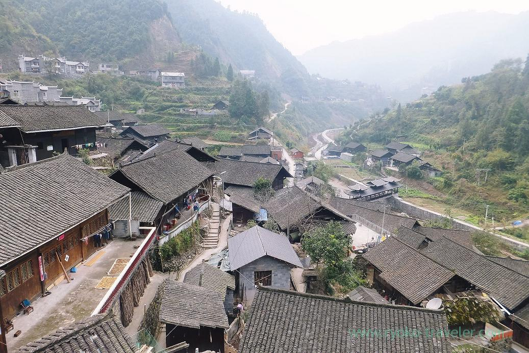 View1, Miao village (Zhang Jia Jie and Feng Huang of China 2015)