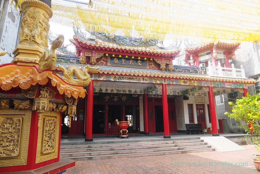 Appearance, Tienhou temple, Cijin, Kaohsiung, Taiwan Kaohsiung 2015