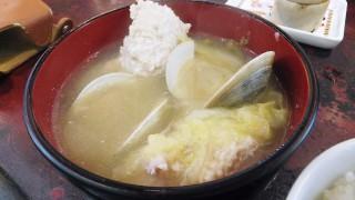(Moved) Tsukiji Market : Hot soup and boiled tuna at Yonehana