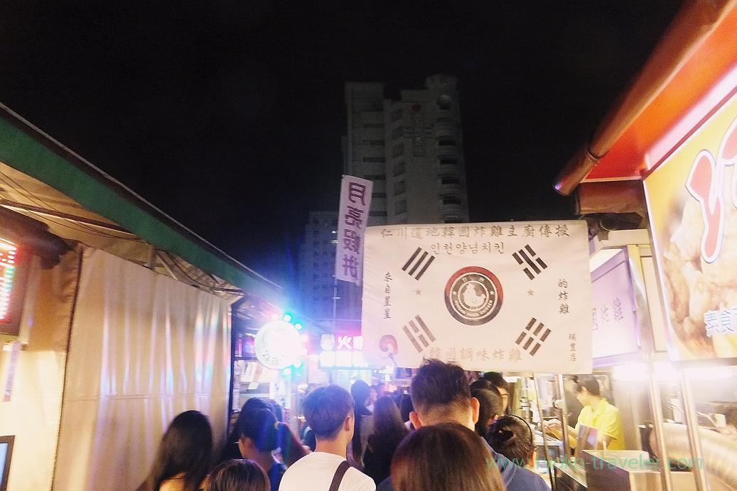 Crowded1, Ruifeng night market, Kaohsiung Arena, Taiwan Kaohsiung 2015