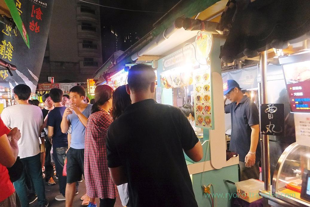 Crowded2, Ruifeng night market, Kaohsiung Arena, Taiwan Kaohsiung 2015
