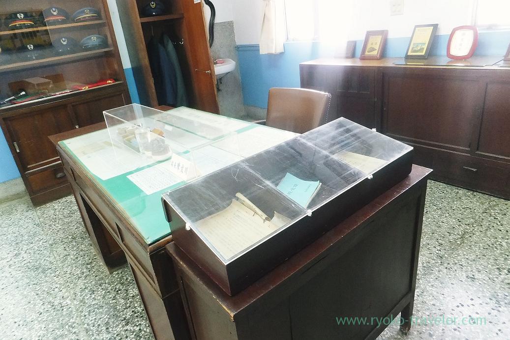 Exhibit, Takao railway museum, Yanchengpu, Kaohsiung, Taiwan Kaohsiung 2015