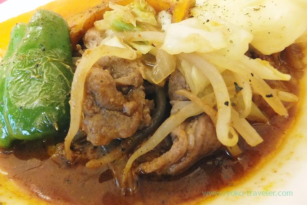 Lamb meat, Soup curry Kamui (Iwamotocho)