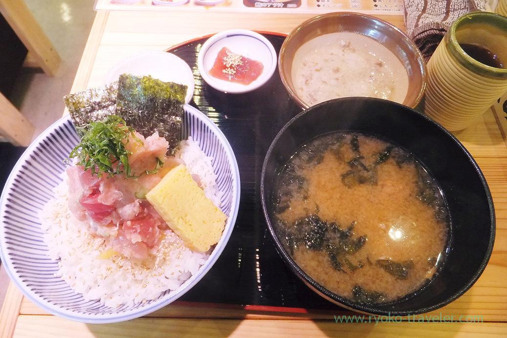 Makanai-don, Maguro Senmonten Isuke (Tsukiji)