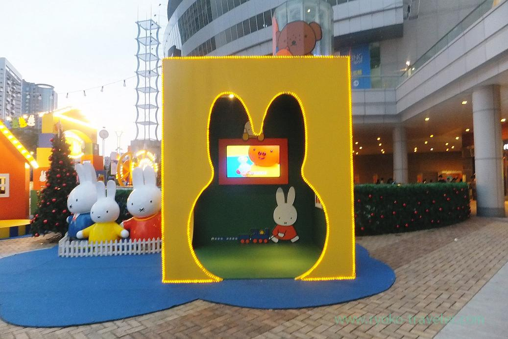 Miffy box, Hanshin department, Kaohsiung Arena, Taiwan Kaohsiung 2015