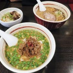 Funabashi : Spicy sesami ramen at Asyura (拉麺 阿修羅)