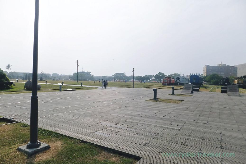 Park, Pier2 Art center, Yanchengpu, Kaohsiung, Taiwan Kaohsiung 2015