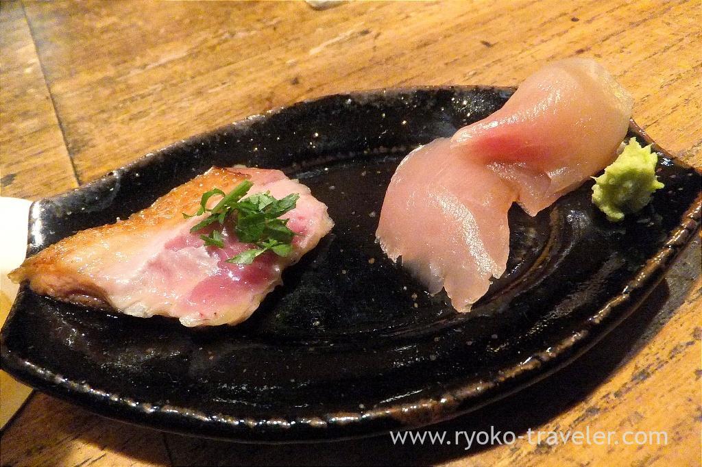 Sashimi, Yakitori Imai (Sendagi)