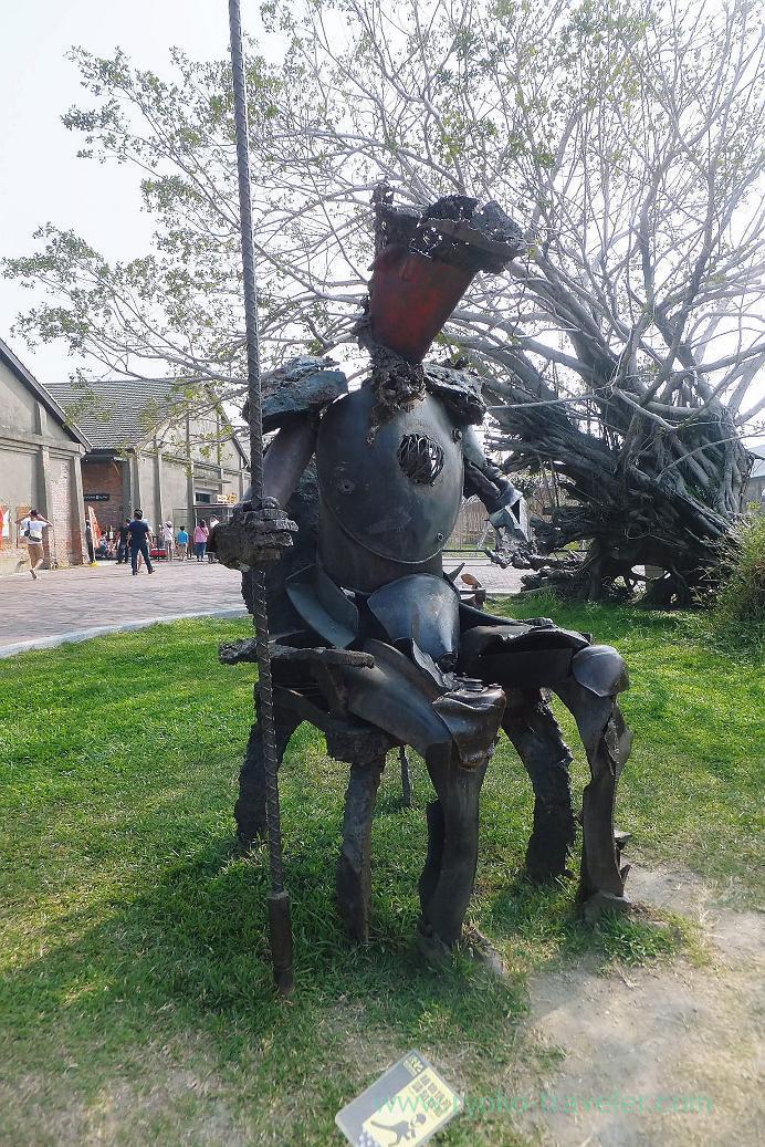Soldier, Pier2 Art center, Yanchengpu, Kaohsiung, Taiwan Kaohsiung 2015