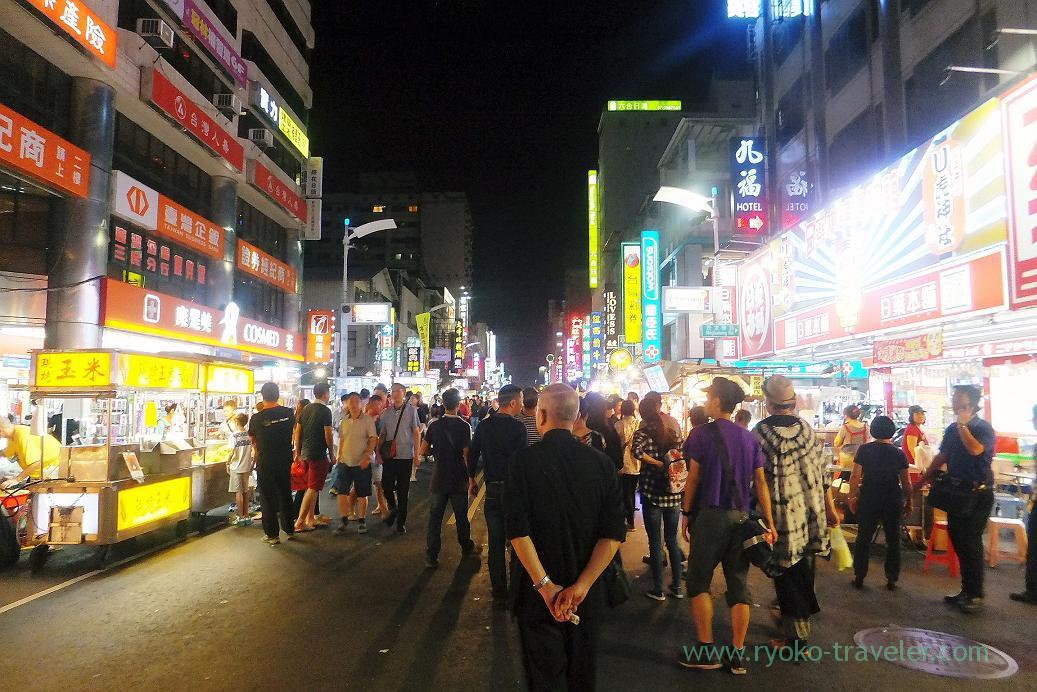 Street1, Liuhe night market, Kaohsiung, Taiwan Kaohsiung 2015
