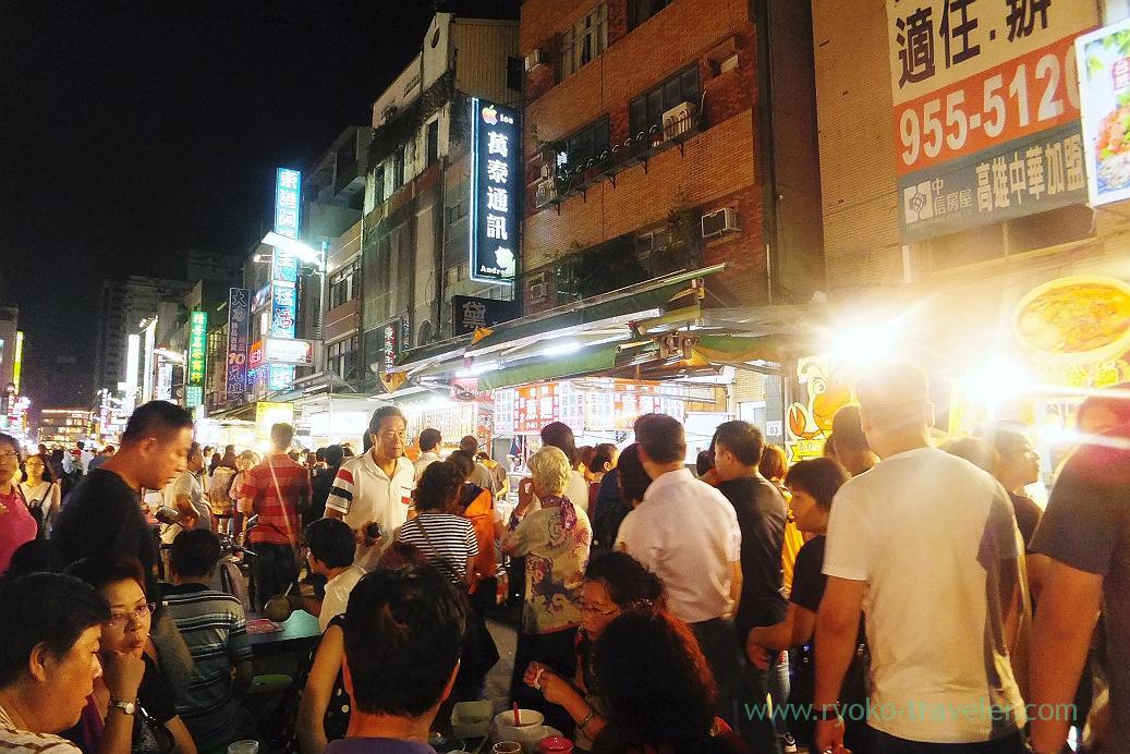 Street2, Liuhe night market, Kaohsiung, Taiwan Kaohsiung 2015