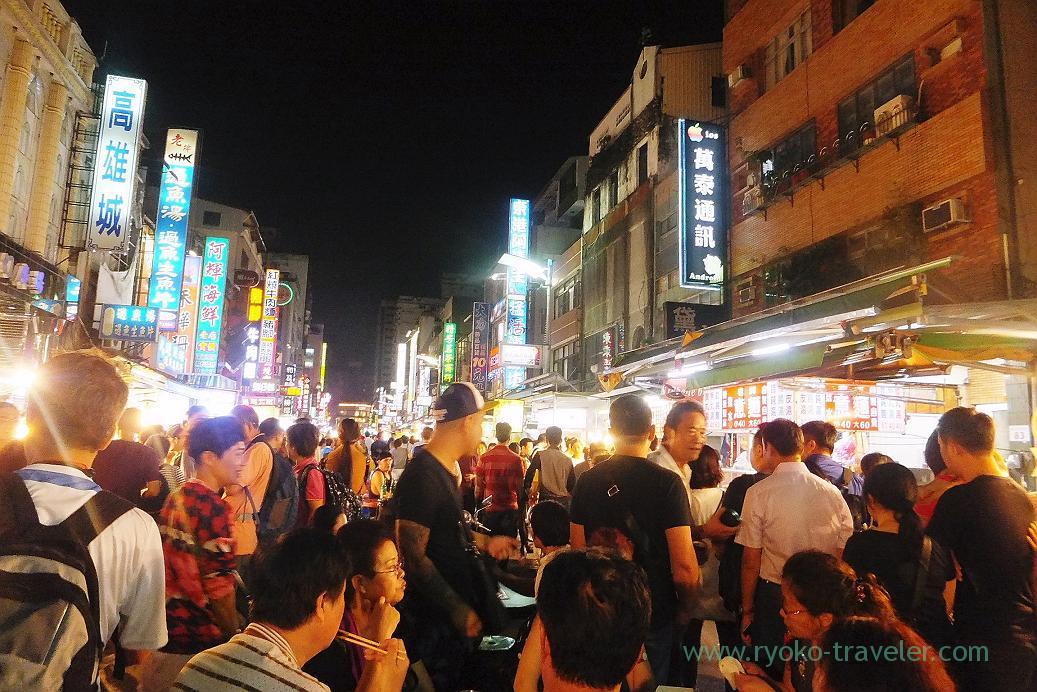 Street3, Liuhe night market, Kaohsiung, Taiwan Kaohsiung 2015