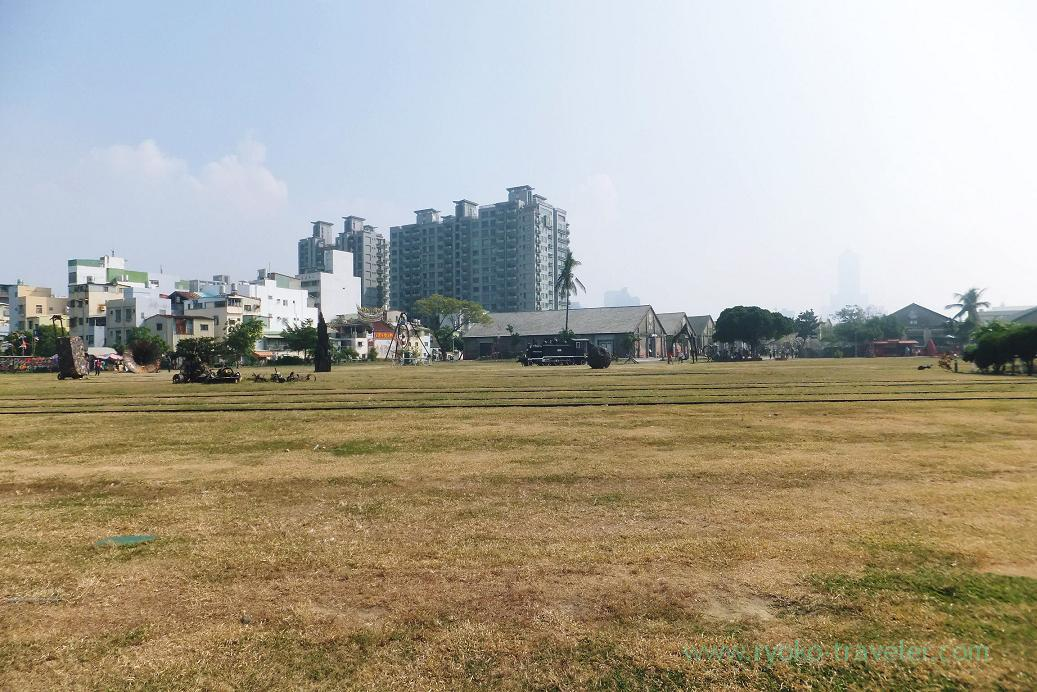Vast ground, Pier2 Art center, Yanchengpu, Kaohsiung, Taiwan Kaohsiung 2015