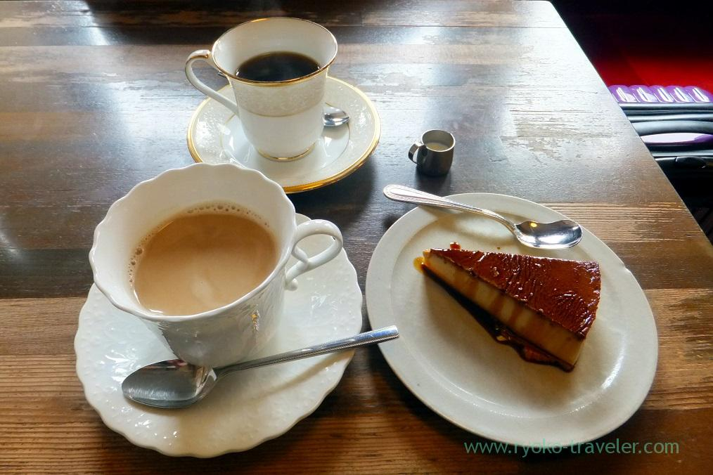 Coffee and pudding,Higashide Coffee-ten, Kanazawa (Hokuriku&Tokai 2016)
