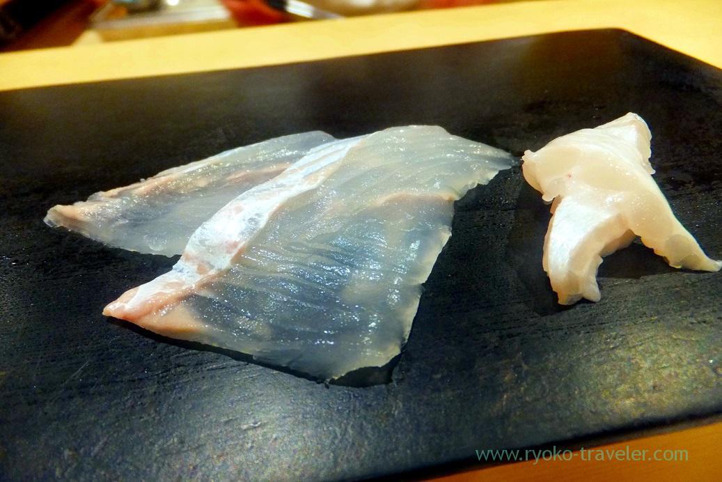 Flatfish, Sushi Hashimoto (Shintomicho)