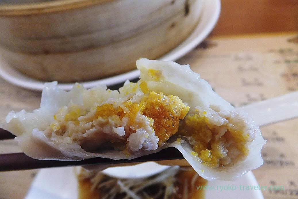 Lots of mullet roe, Long pao dumpling, Central park, Kaohsiung, Taiwan Kaohsiung 2015