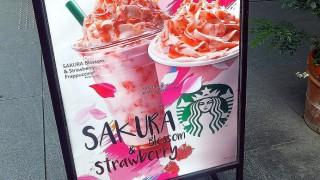 Daimon : Limited Sakura beverage at Starbucks.
