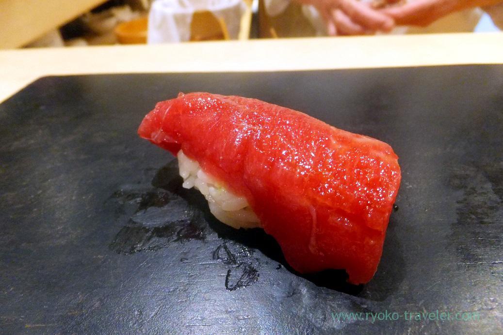 Tuna, Sushi Hashimoto (Shintomicho)