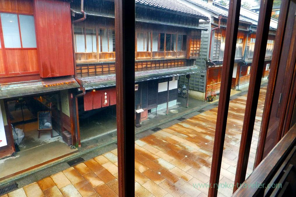 View from the 2nd floor, Sabo Soshin, Kanazawa (Hokuriku&Tokai 2016)