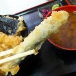Tsukiji Market : Young sweetfish at Tenfusa (天房)