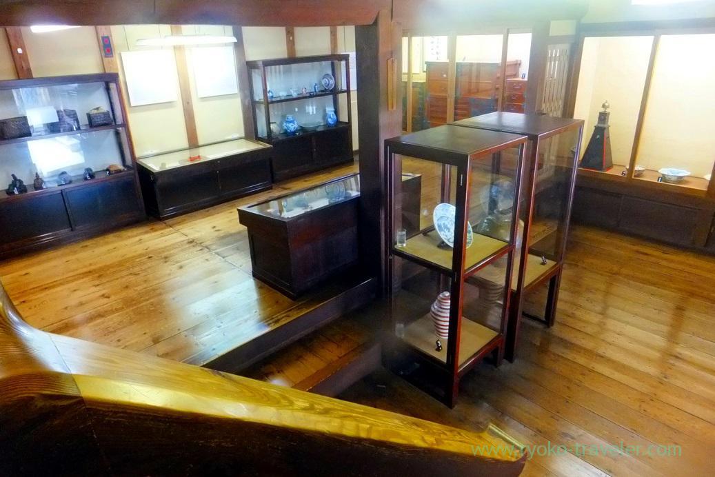 1st ground of exhibision room, Kusakabe folk museum, Takayama (Hokuriku&Tokai 2016)