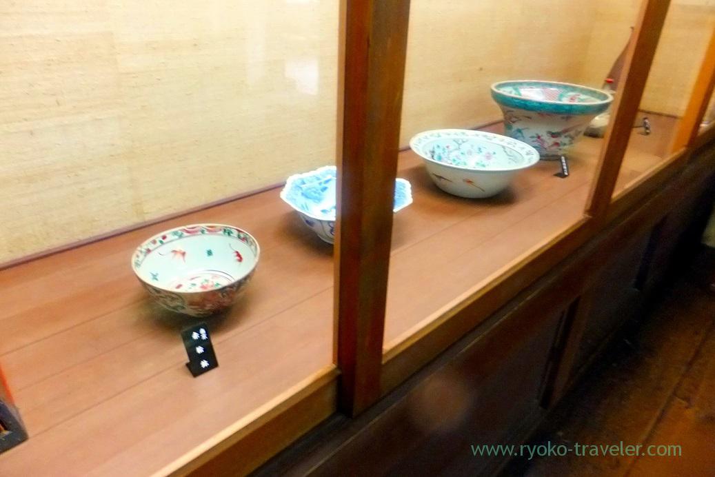 Dishes, Kusakabe folk museum, Takayama (Hokuriku&Tokai 2016)