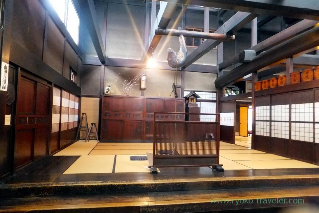 Entrance, Kusakabe folk museum, Takayama (Hokuriku&Tokai 2016)