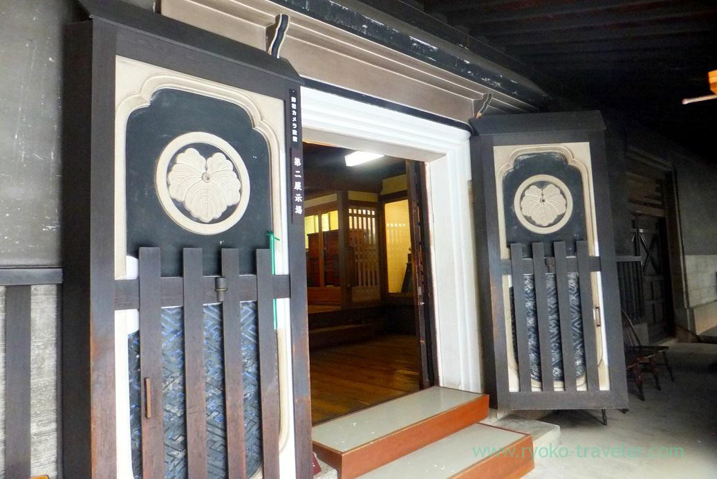 Exhibition room, Kusakabe folk museum, Takayama (Hokuriku&Tokai 2016)