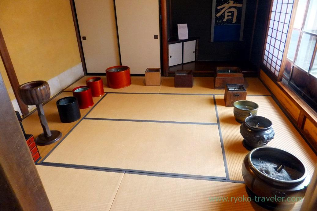 Hibachi, Kusakabe folk museum, Takayama (Hokuriku&Tokai 2016)