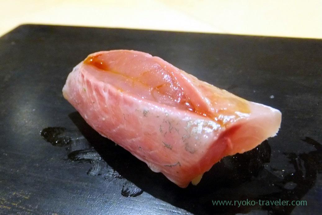 Horse mackerel, Sushi Hashimoto (Shintomicho)