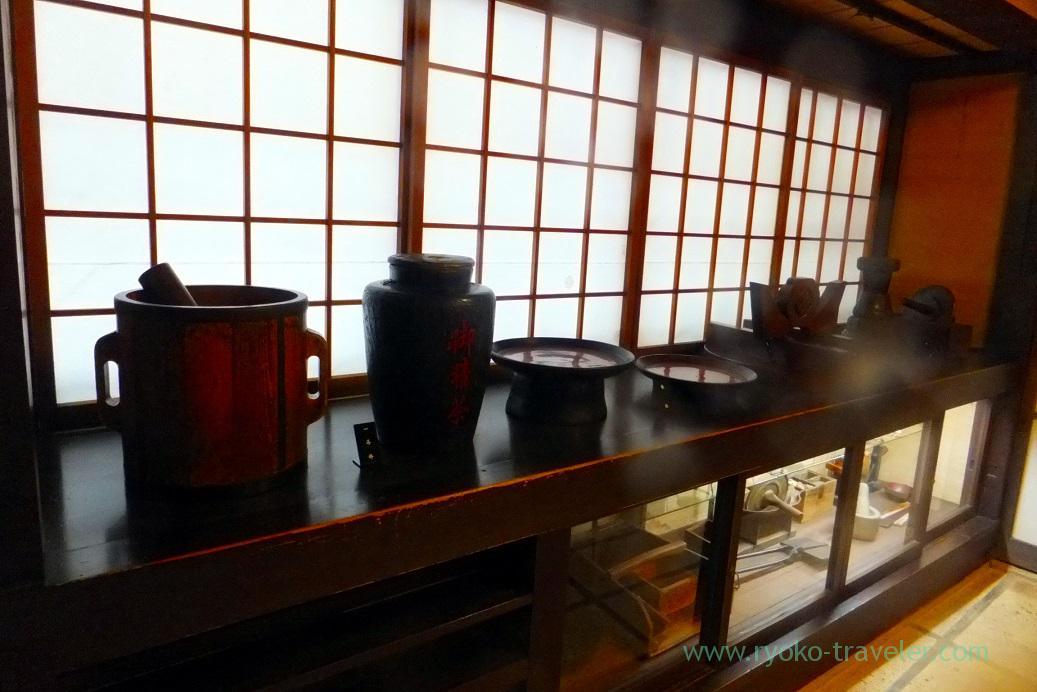Items, Kusakabe folk museum, Takayama (Hokuriku&Tokai 2016)