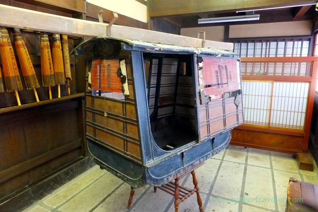 Kago , Kusakabe folk museum, Takayama (Hokuriku&Tokai 2016)
