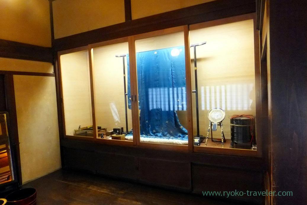 Kimono , Kusakabe folk museum, Takayama (Hokuriku&Tokai 2016)