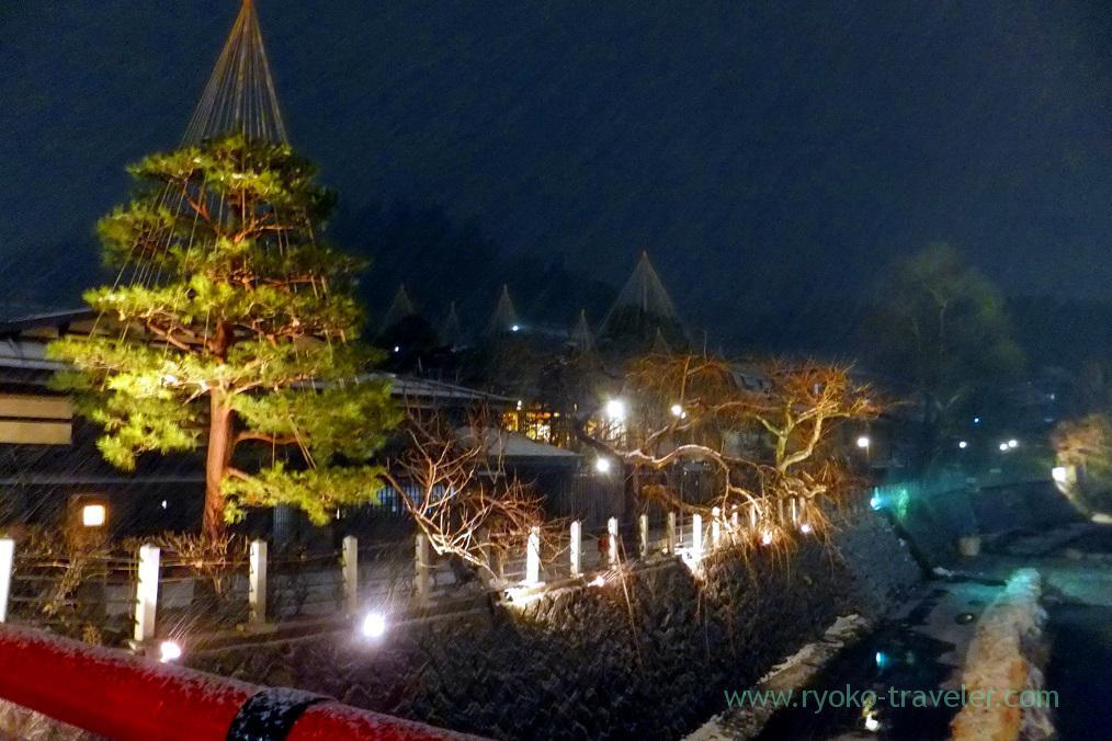 Night view, Takayama (Hokuriku&Tokai 2016)