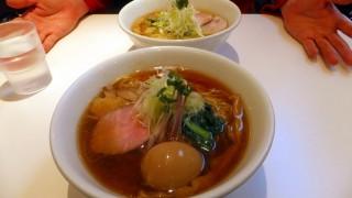 Shimousa Nakayama : Torisoba at Suzaku (鶏そば 朱雀)