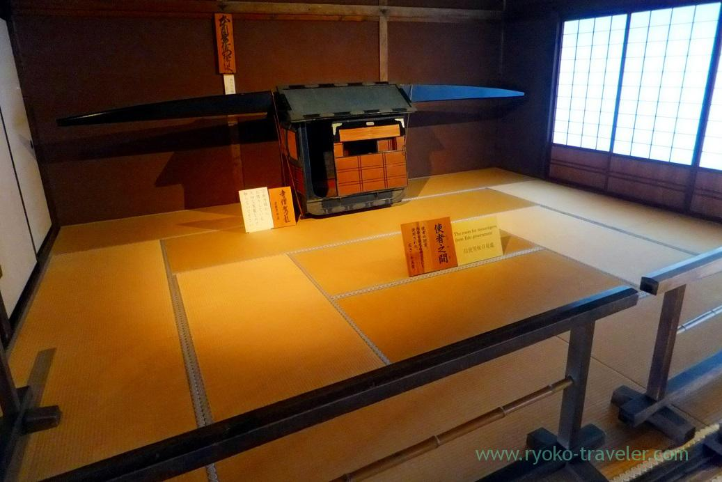 Room for messengers from Edo government, Takayama Jinya, Takayama (Hokuriku&Tokai 2016)
