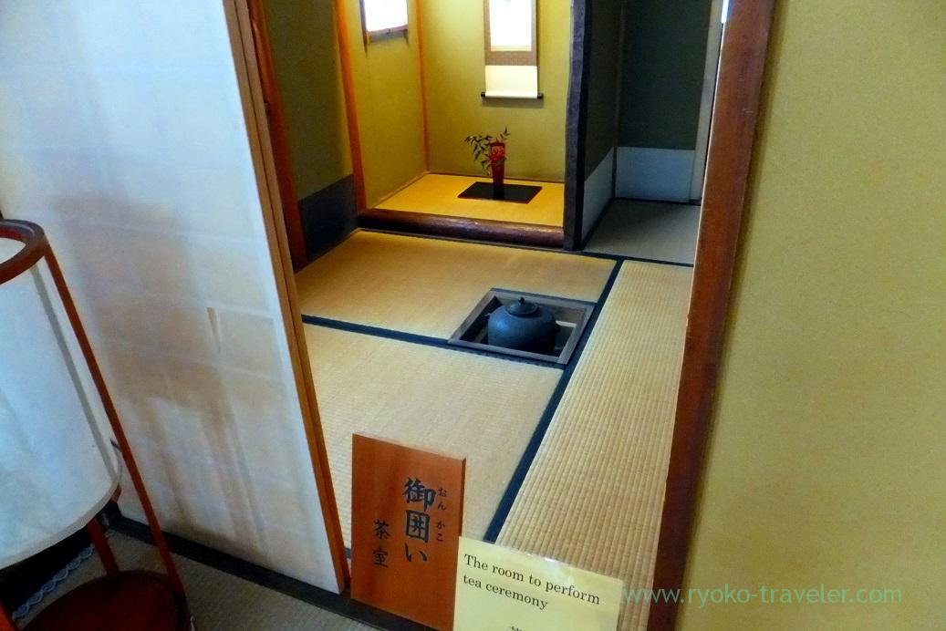 Room to perform tea ceremony, Takayama Jinya, Takayama (Hokuriku&Tokai 2016)