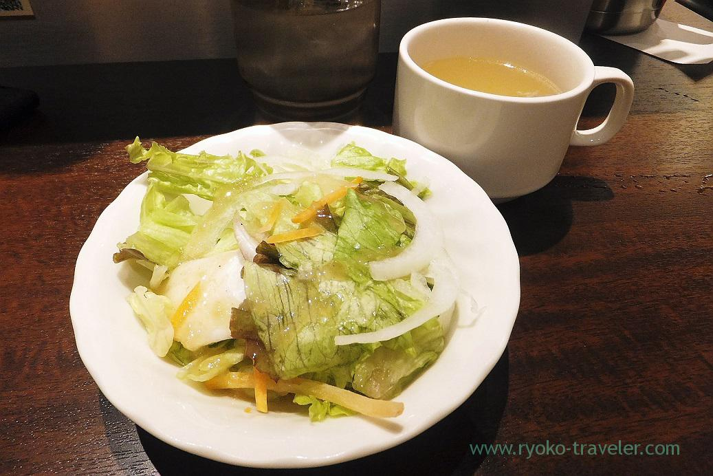 Salads and soup, Ikinari steak Harumi toriton branch (Kachidoki)