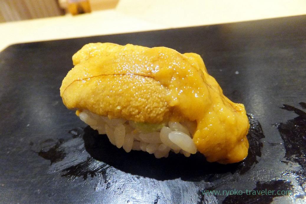 Sea urchin2, Sushi Hashimoto (Shintomicho)