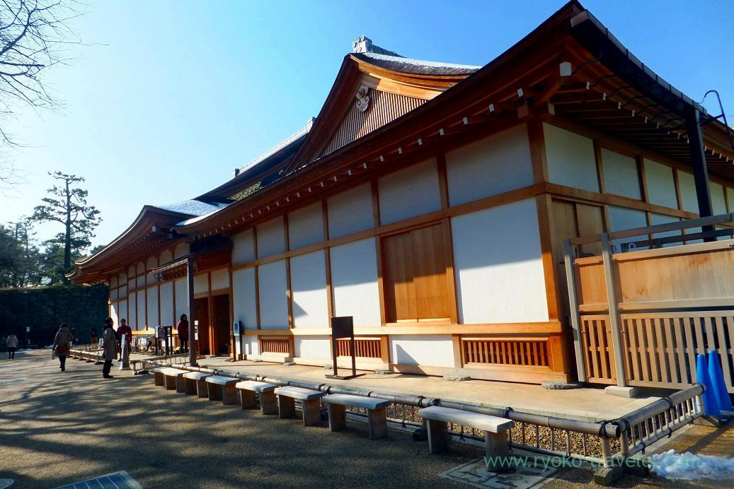 Appearance of Omote Shoin, Nagoya castle, Nagoya (Hokuriku&Tokai 2016)