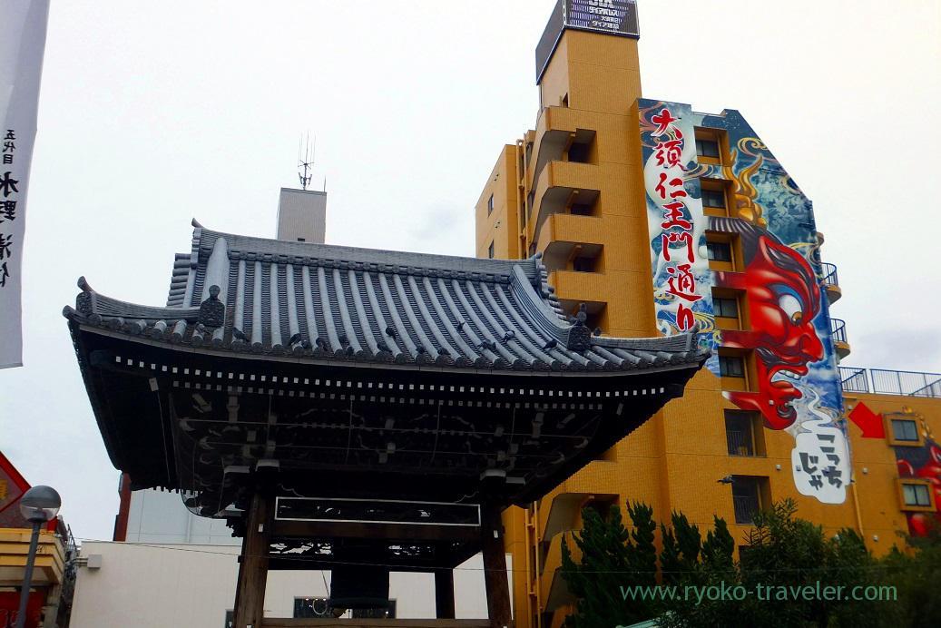 Bell tower, Ozu kannon (Hokuriku&Tokai 2016)