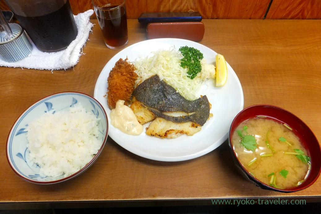 Breakfast, Odayasu (Tsukiji Market)