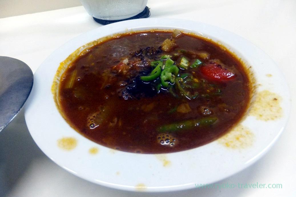 Curry, Curry shop udon (Gotanda)