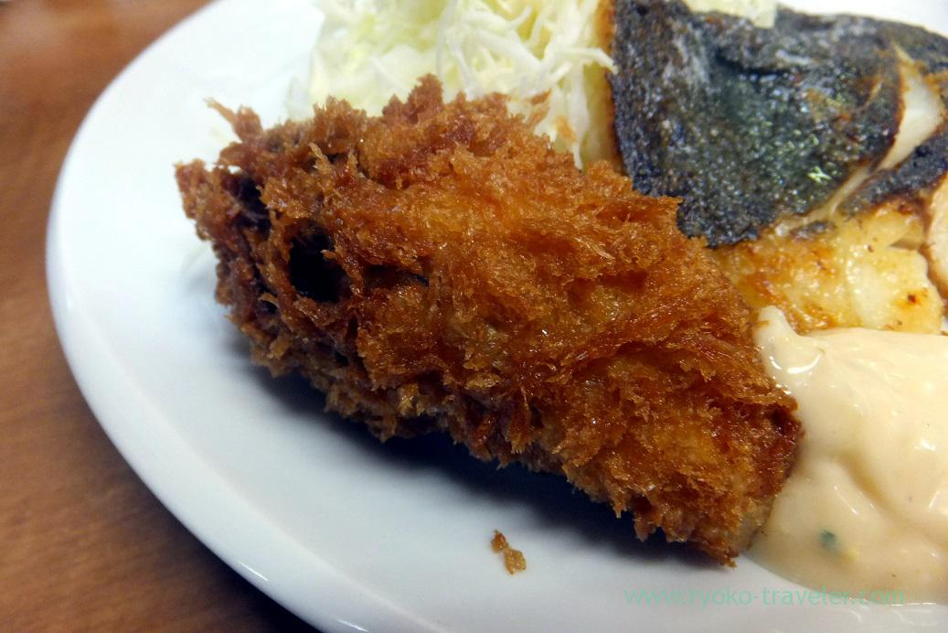 Deep fried oyster, Odayasu (Tsukiji Market)